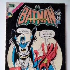 Tebeos: BATMAN Y SUPERMAN EDC. NOVARO 1973 Nº 673 LA FUGITIVA DE LAS ESTRELLAS. Lote 132935486