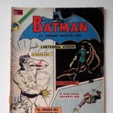 Tebeos: BATMAN EDC. NOVARO 1972 Nº 656 EL ORIGEN DEL JURAMENTO DE LINTERNA VERDE.. Lote 132935954