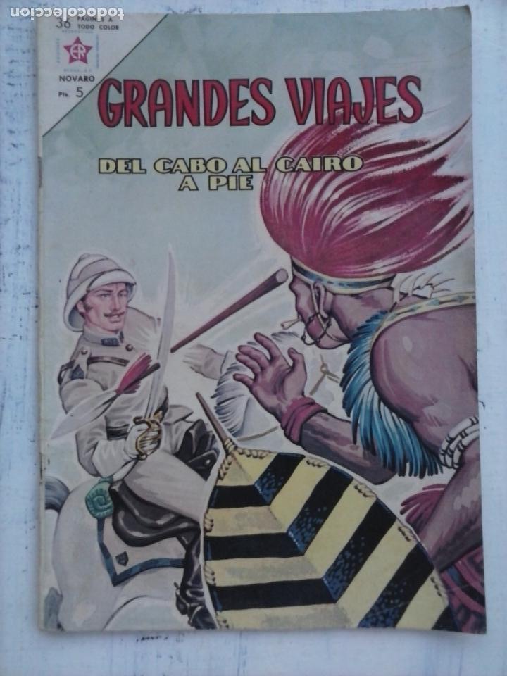 GRANDES VIAJES Nº 7 - NOVARO 1963 - MUY BUEN ESTADO (Tebeos y Comics - Novaro - Grandes Viajes)