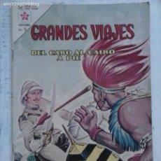 Tebeos: GRANDES VIAJES Nº 7 - NOVARO 1963 - MUY BUEN ESTADO. Lote 132948098