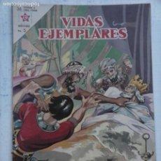 Tebeos: VIDAS EJEMPLARES Nº 155 - NOVARO 1963 - SAN LUÍS, REY DE FRANCIA, MUY BUEN ESTADO. Lote 151205994