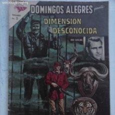 Tebeos: DOMINGOS ALEGRES Nº 489 - 1963 NOVARO SEA - DIMENSION DESCONOCIDA - BUENA CONSERVACIÓN. Lote 132949506