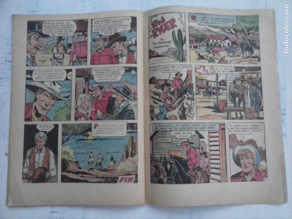 Tebeos: RED RYDER Nº 121 - 1964 NOVARO - Foto 3 - 132952774