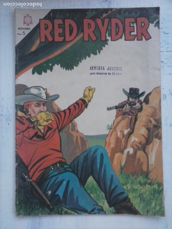 RED RYDER Nº 124 - NOVARO FEBRERO 1965 (Tebeos y Comics - Novaro - Red Ryder)