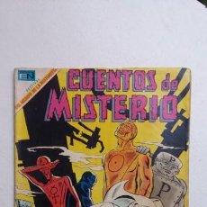 Tebeos: CUENTOS DE MISTERIO N° 161 - LOS HOMBRES DE METAL - ORIGINAL EDITORIAL NOVARO. Lote 132953602