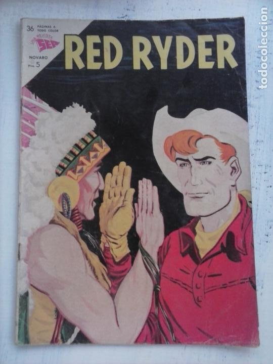 RED RYDER Nº 108 - 1963 BRUGUERA - BUENA CONSERVACION (Tebeos y Comics - Novaro - Red Ryder)