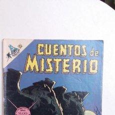 Tebeos: CUENTOS DE MISTERIO N° 145 - ORIGINAL EDITORIAL NOVARO. Lote 132953942