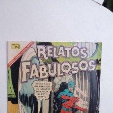 Tebeos: RELATOS FABULOSOS N° 97 - ATOM - ORIGINAL EDITORIAL NOVARO. Lote 132954118