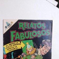 Tebeos: RELATOS FABULOSOS N° 103 - ATOM - ORIGINAL EDITORIAL NOVARO. Lote 132954306