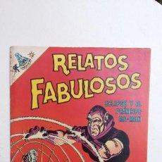 Tebeos: RELATOS FABULOSOS N° 105 - ORIGINAL EDITORIAL NOVARO. Lote 132954478