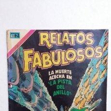 Tebeos: RELATOS FABULOSOS N° 137 - ORIGINAL EDITORIAL NOVARO. Lote 132954582