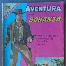 Tebeos: COMIC ORIGINAL NOVARO BONANZA 1967 .BUEN ESTADO. Lote 133046590