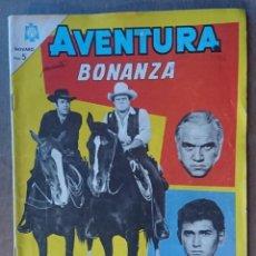 Tebeos: COMIC ORIGINAL NOVARO BONANZA 1965 .MUY BUEN ESTADO. Lote 133046918