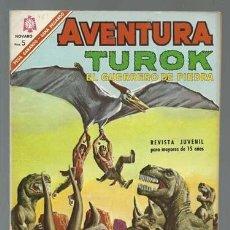 Tebeos: AVENTURA 461: TUROK, 1966, NOVARO, MUY BUEN ESTADO. Lote 133279730