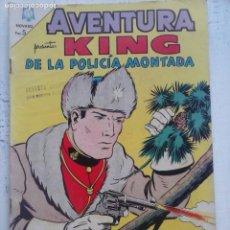 Tebeos: AVENTURA - KING DE LA POLICÍA MONTADA Nº 365 - NOVARO 1968. Lote 133348718
