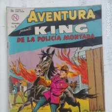 Tebeos: AVENTURA - KING DE LA POLICÍA MONTADA Nº 321 - NOVARO 1964. Lote 133348910