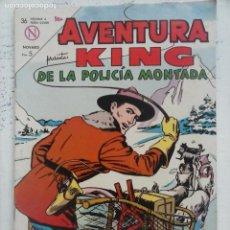 Tebeos: AVENTURA - KING DE LA POLICÍA MONTADA Nº 313 - NOVARO 1964. Lote 133349014
