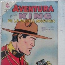 Tebeos: AVENTURA - KING DE LA POLICÍA MONTADA Nº 347 - NOVARO 1964. Lote 133349082