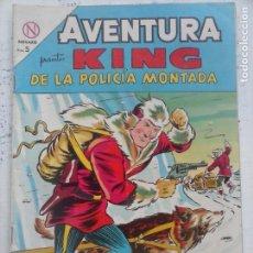 Tebeos: AVENTURA - KING DE LA POLICÍA MONTADA Nº 328 - NOVARO 1964. Lote 133349158