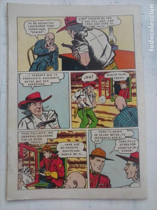 Tebeos: AVENTURA - KING DE LA POLICÍA MONTADA Nº 328 - NOVARO 1964 - Foto 3 - 133349158