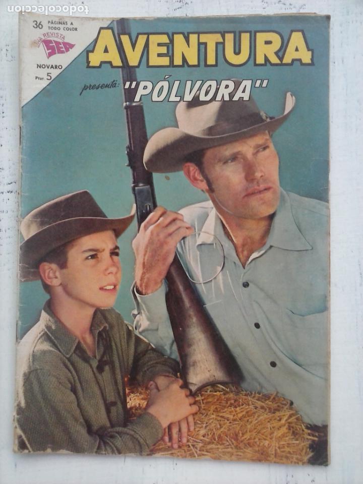 AVENTURA - PÓLVORA Nº 300 - NOVARO SEA 1963 (Tebeos y Comics - Novaro - Aventura)