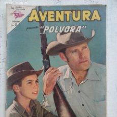Tebeos: AVENTURA - PÓLVORA Nº 300 - NOVARO SEA 1963. Lote 133349254