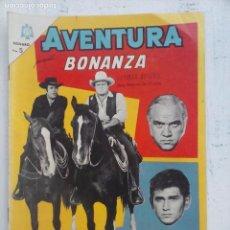 Tebeos: AVENTURA - BONANZA Nº 381 - NOVARO 1965. Lote 133349322