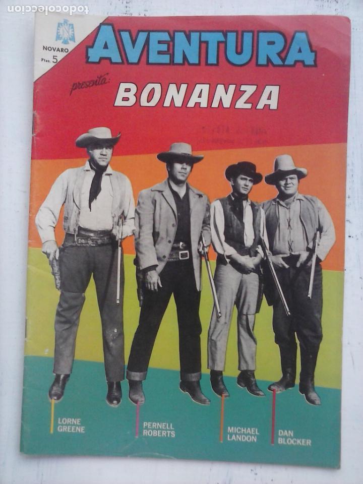 AVENTURA - BONANZA Nº 371 - NOVARO 1965 (Tebeos y Comics - Novaro - Aventura)