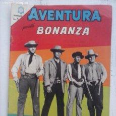 Tebeos: AVENTURA - BONANZA Nº 371 - NOVARO 1965. Lote 133349382