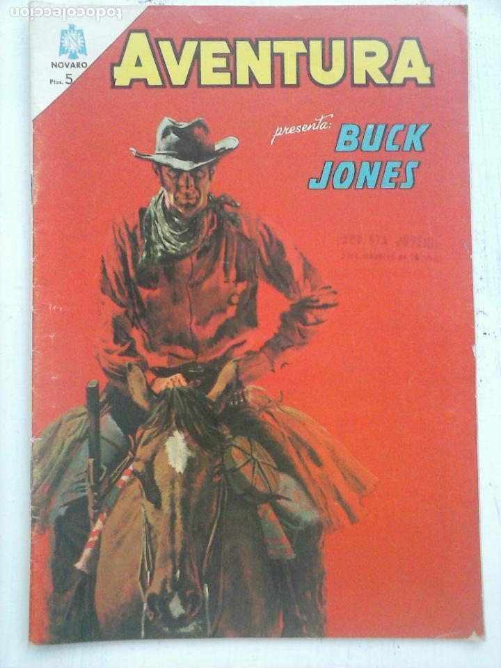AVENTURA - BUCK JONES Nº 359 - NOVARO 1964 (Tebeos y Comics - Novaro - Aventura)