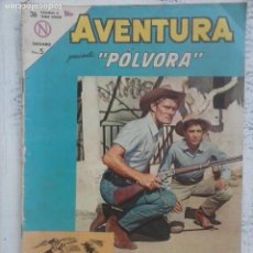 Tebeos: AVENTURA - PÓLVORA Nº 312 - NOVARO 1963. Lote 133349770