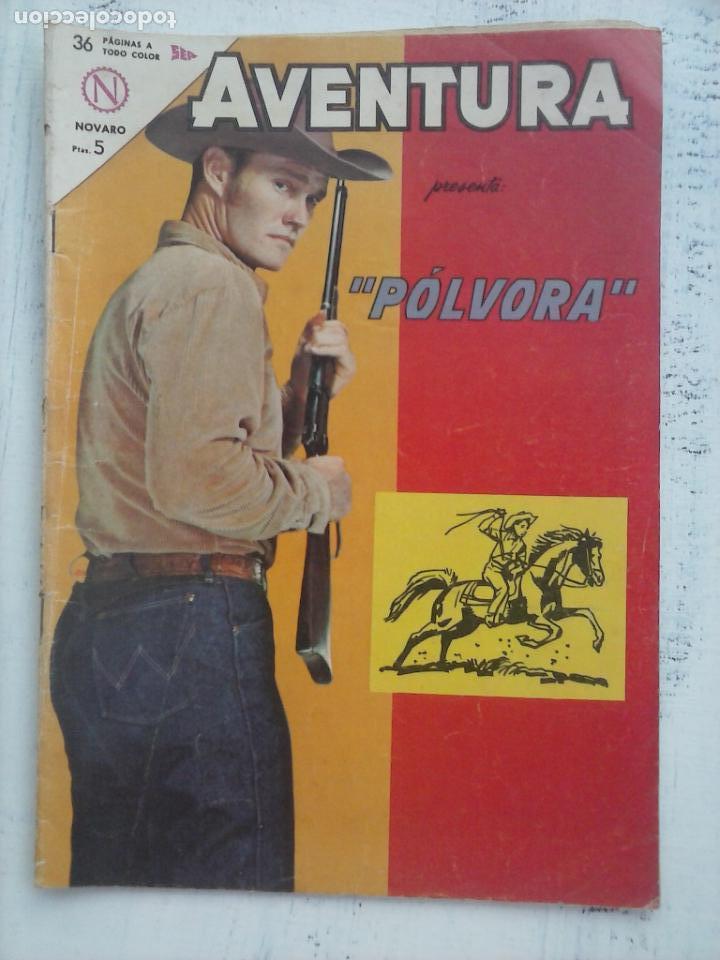 AVENTURA - PÓLVORA Nº 309 - NOVARO 1963 (Tebeos y Comics - Novaro - Aventura)