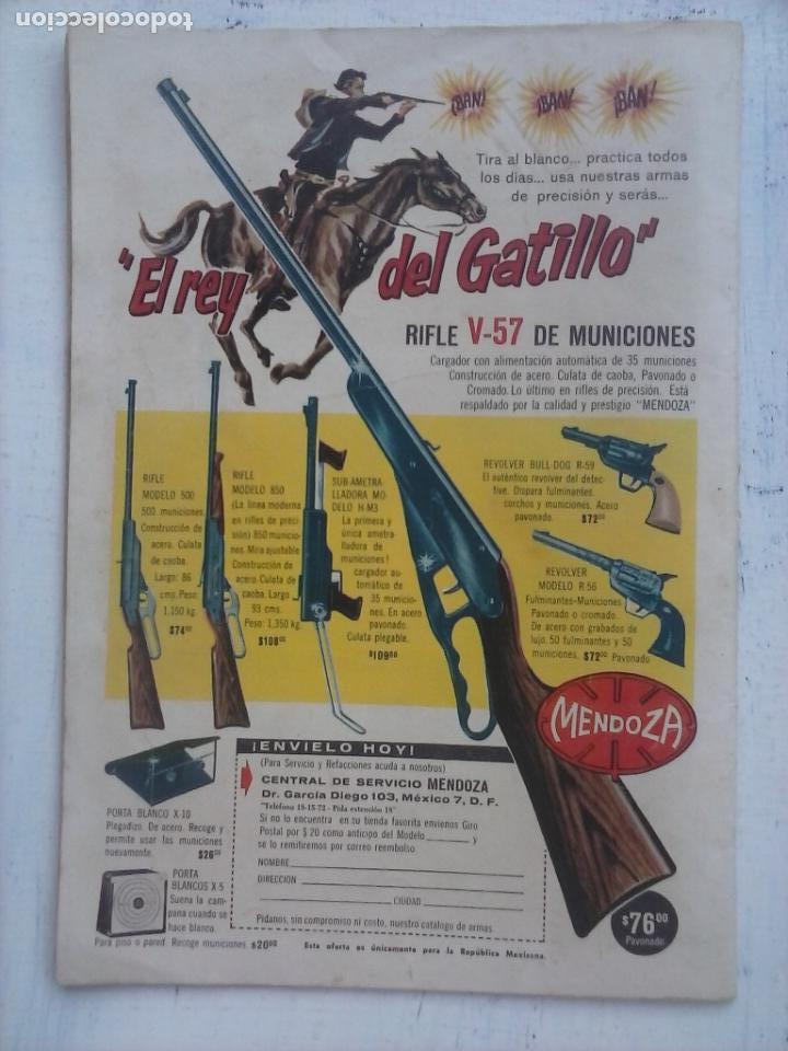 Tebeos: AVENTURA - PÓLVORA Nº 309 - NOVARO 1963 - Foto 2 - 133349830