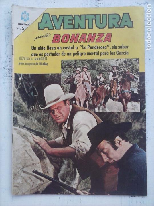 AVENTURA - BONANZA Nº 397 - NOVARO 1965 (Tebeos y Comics - Novaro - Aventura)