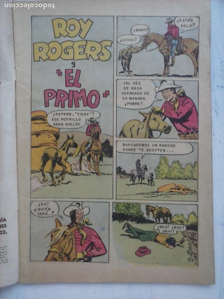 Tebeos: ROY ROGERS Nº 149 - NOVARO 1965 - Foto 3 - 133351234