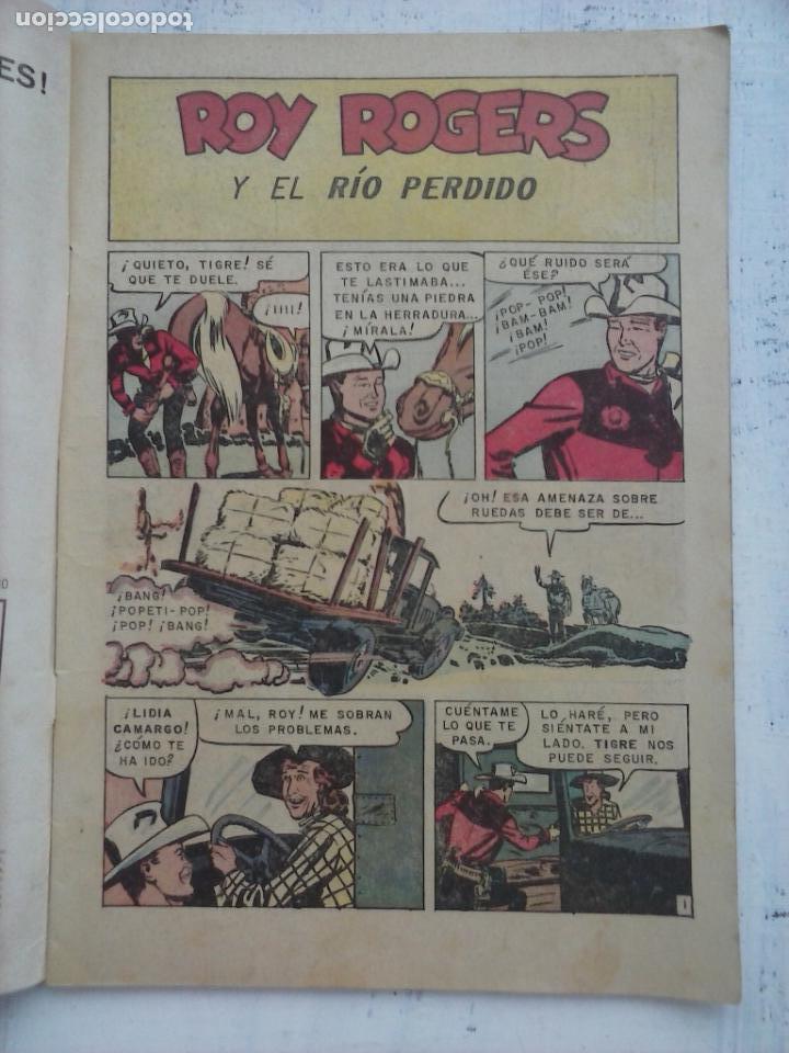 Tebeos: ROY ROGERS Nº 148 - NOVARO 1964 - Foto 3 - 133351422