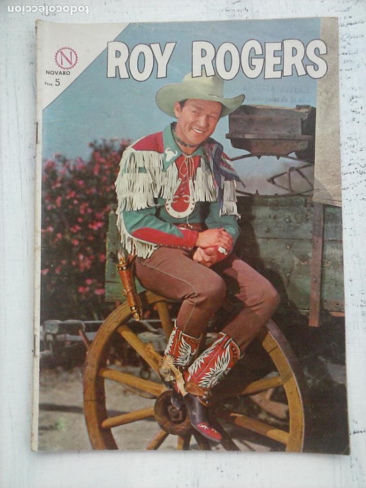 ROY ROGERS Nº 142 - NOVARO 1964 (Tebeos y Comics - Novaro - Roy Roger)