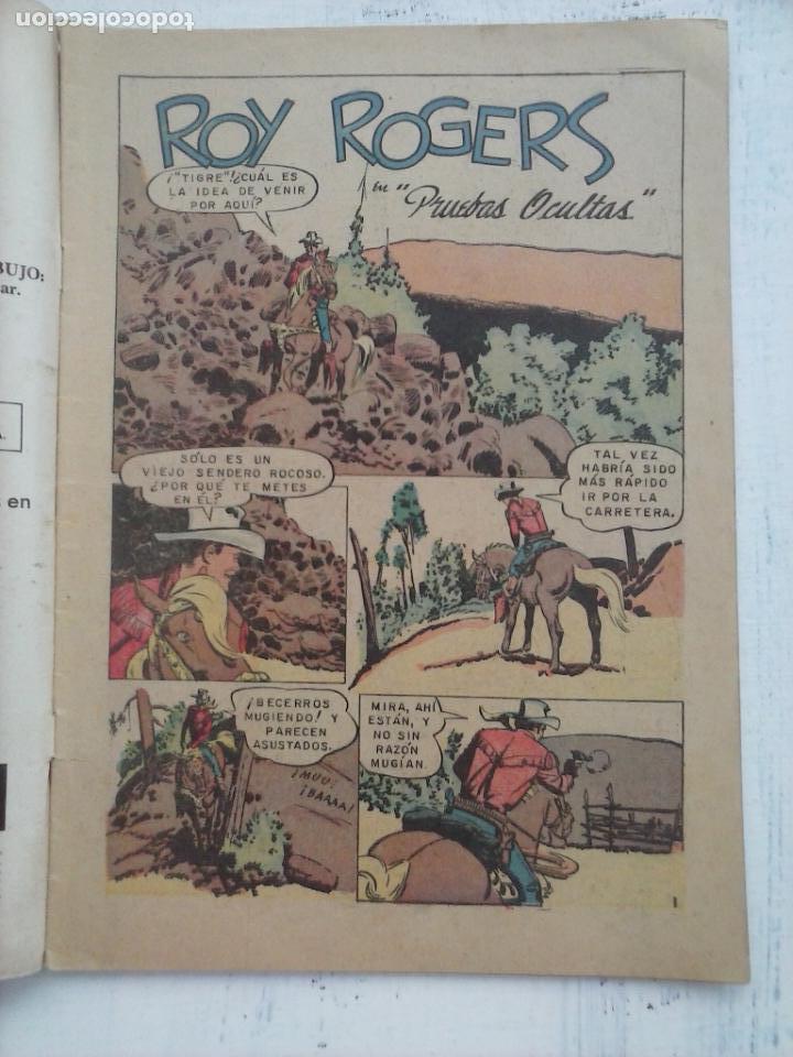 Tebeos: ROY ROGERS Nº 142 - NOVARO 1964 - Foto 2 - 133351486