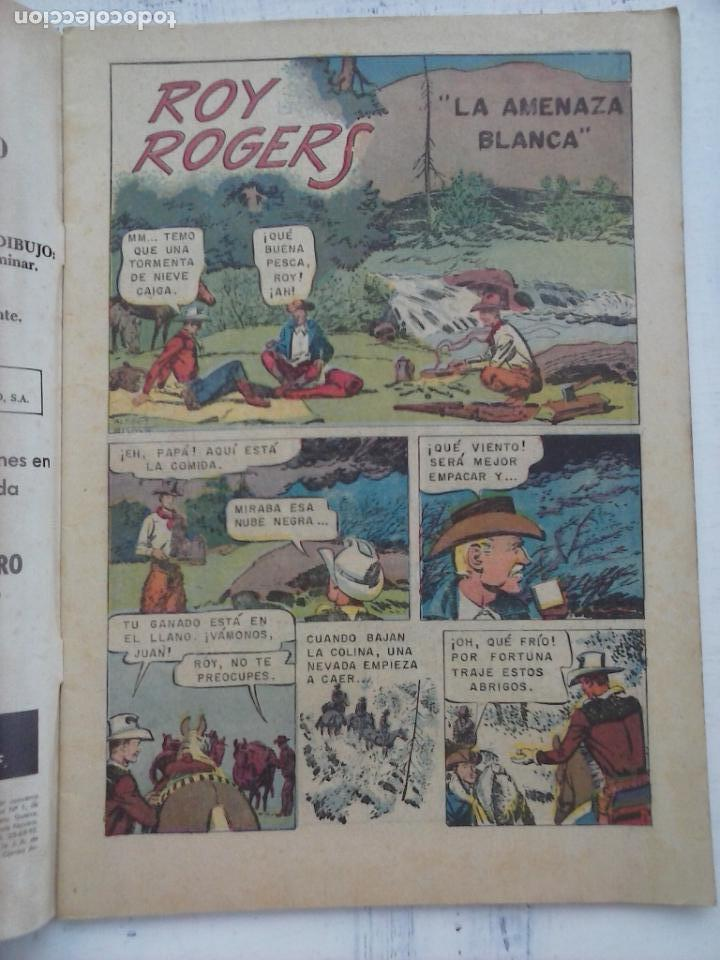 Tebeos: ROY ROGERS Nº 140 - NOVARO 1964 - Foto 3 - 133351578