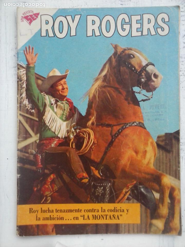 ROY ROGERS Nº 89 - NOVARO 1960 (Tebeos y Comics - Novaro - Roy Roger)