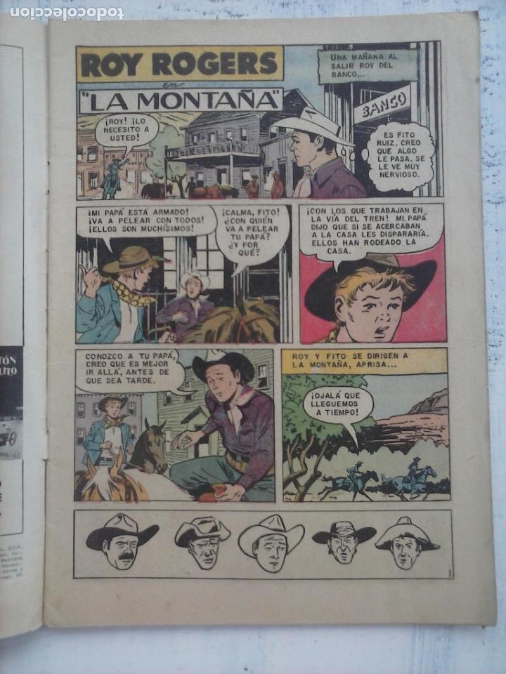 Tebeos: ROY ROGERS Nº 89 - NOVARO 1960 - Foto 2 - 133352130