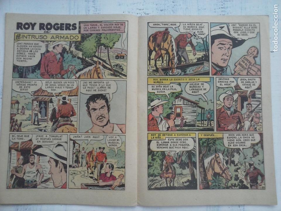 Tebeos: ROY ROGERS Nº 89 - NOVARO 1960 - Foto 3 - 133352130