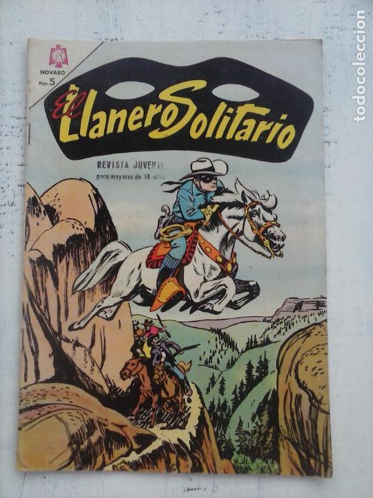 EL LLANERO SOLITARIO Nº 142 - NOVARO 1965 (Tebeos y Comics - Novaro - El Llanero Solitario)