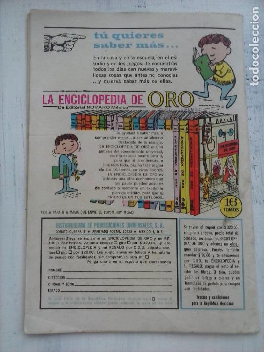 Tebeos: EL LLANERO SOLITARIO Nº 142 - NOVARO 1965 - Foto 3 - 133352802