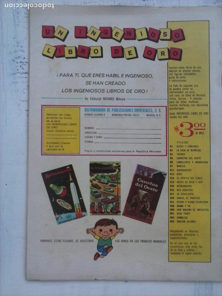 Tebeos: EL LLANERO SOLITARIO Nº 151 - NOVARO 1965 - Foto 2 - 133352934