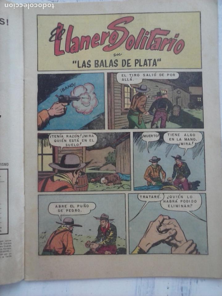 Tebeos: EL LLANERO SOLITARIO Nº 144 - NOVARO 1965 - Foto 2 - 133353238
