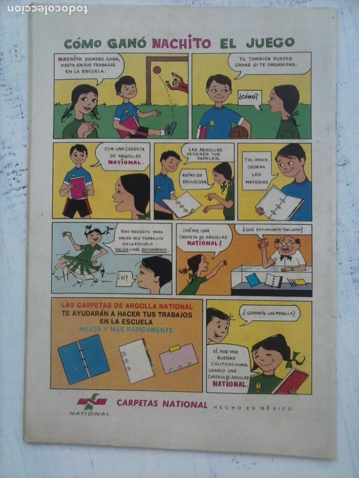 Tebeos: EL LLANERO SOLITARIO Nº 144 - NOVARO 1965 - Foto 3 - 133353238