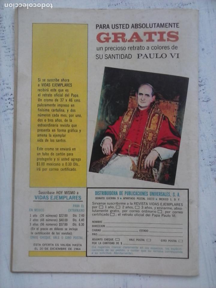Tebeos: EL LLANERO SOLITARIO Nº 138 - NOVARO 1964 - Foto 2 - 133353302
