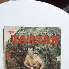 Tebeos: TARZÁN N° 132 - FOTO GORDON SCOTT - ORIGINAL EDITORIAL NOVARO. Lote 133370218