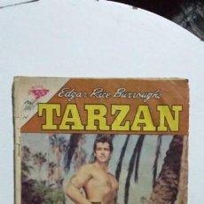 Tebeos: TARZÁN N° 136 - FOTO GORDON SCOTT - ORIGINAL EDITORIAL NOVARO. Lote 133370426